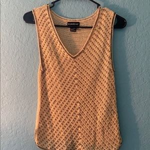BEBE crochet with Sequins size M